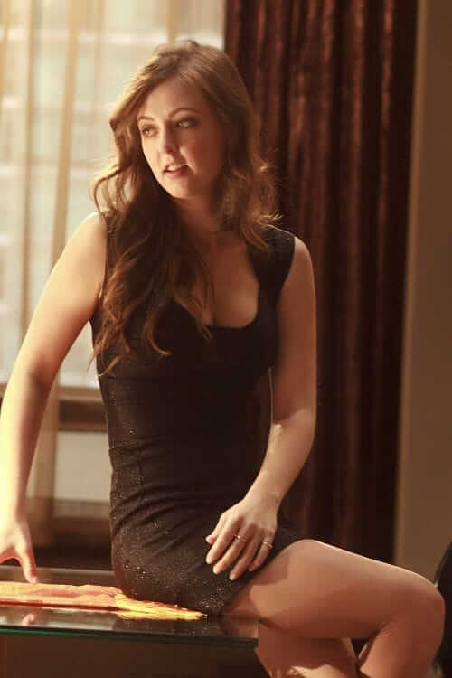 Katharine Isabelle sexy thigh pics