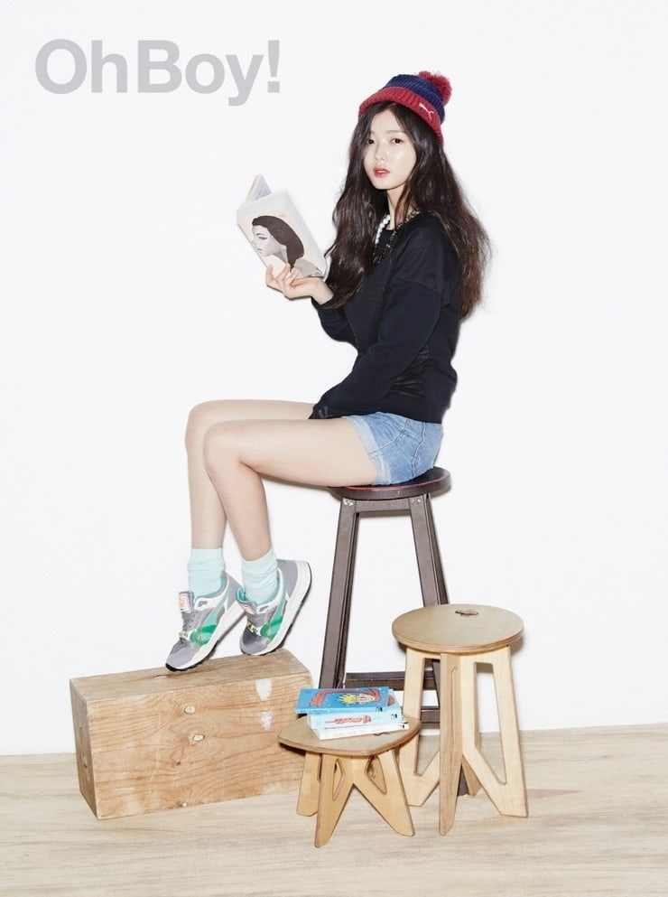 Kim Yoo-jung sexy legs