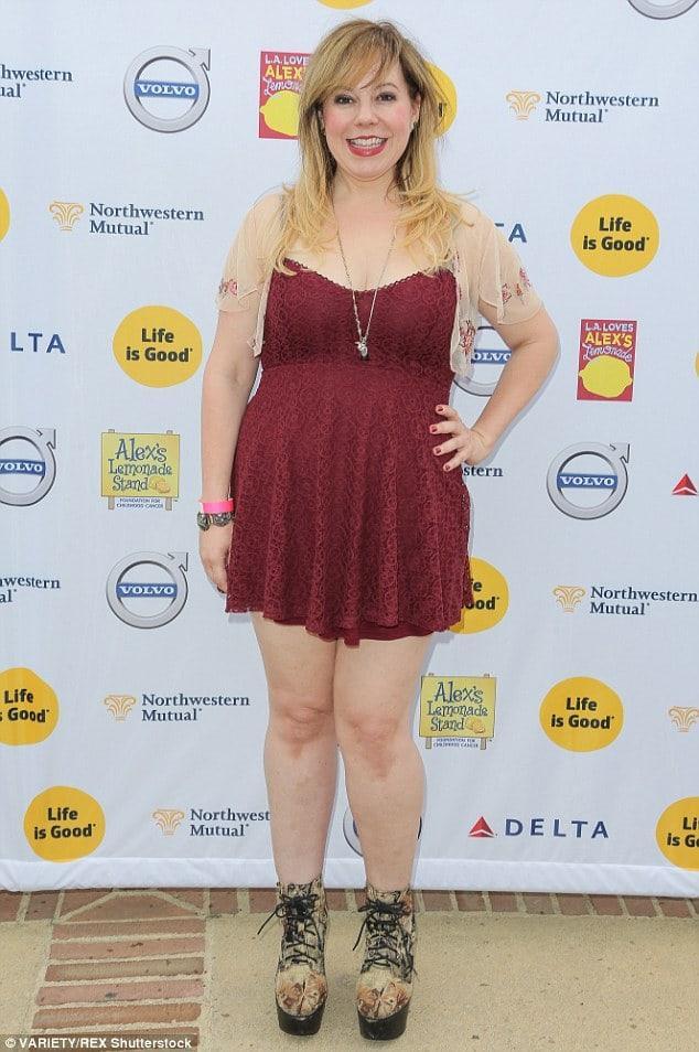 Kirsten Vangsness sexy legs