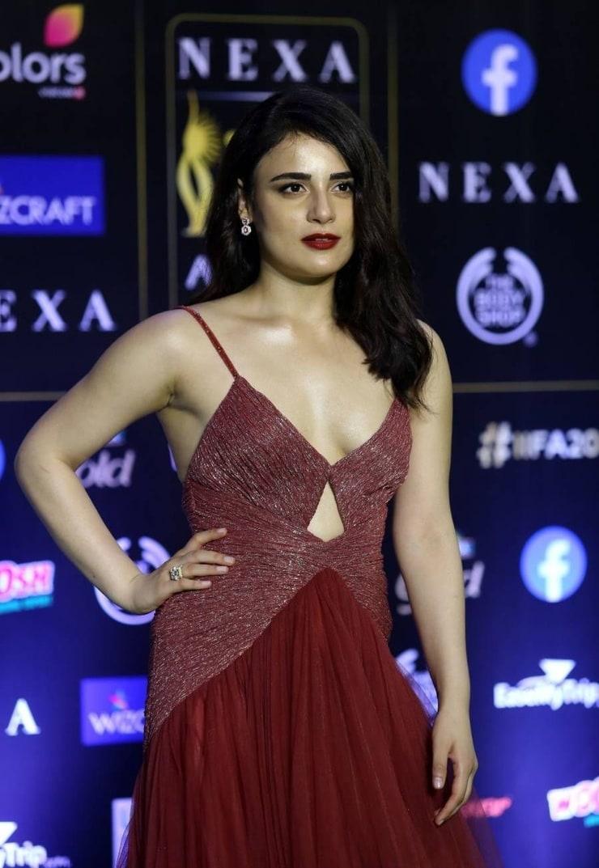 Radhika Madan hot lips pics