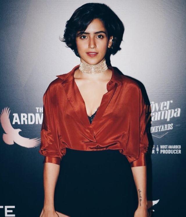 Sanya Malhotra boobs pics