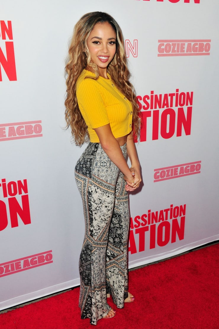 Vanessa Morgan hot ass
