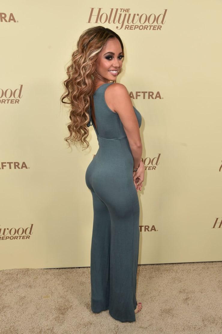 Vanessa Morgan hot booty pics