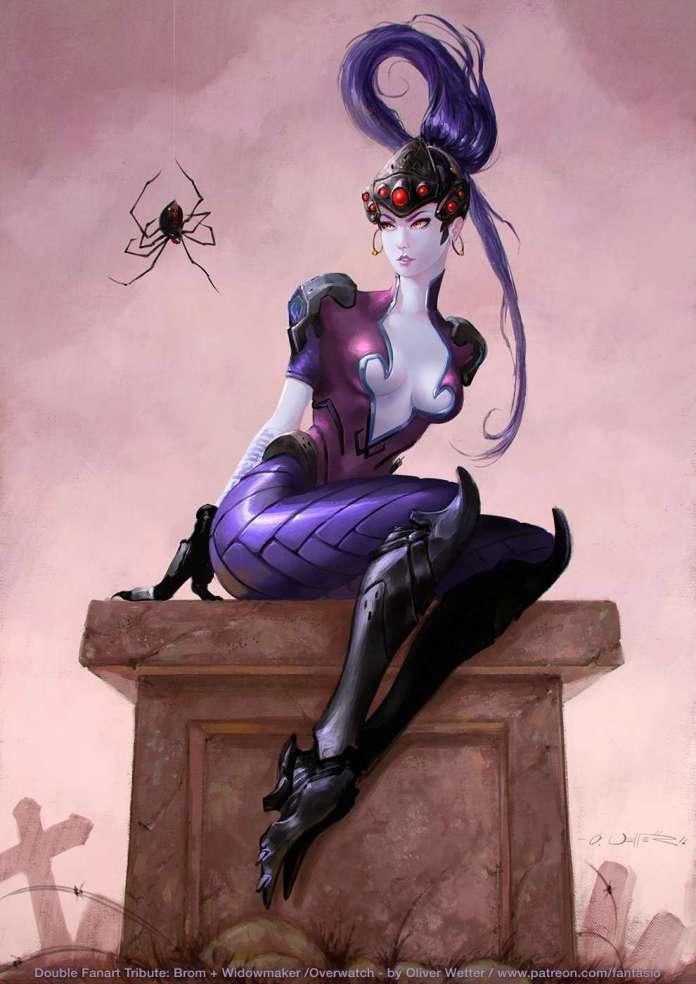Widowmaker hot thigh pics