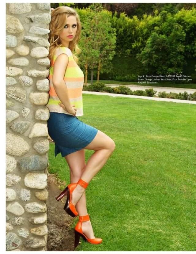 Fiona Gubelmann sexy thigh pics