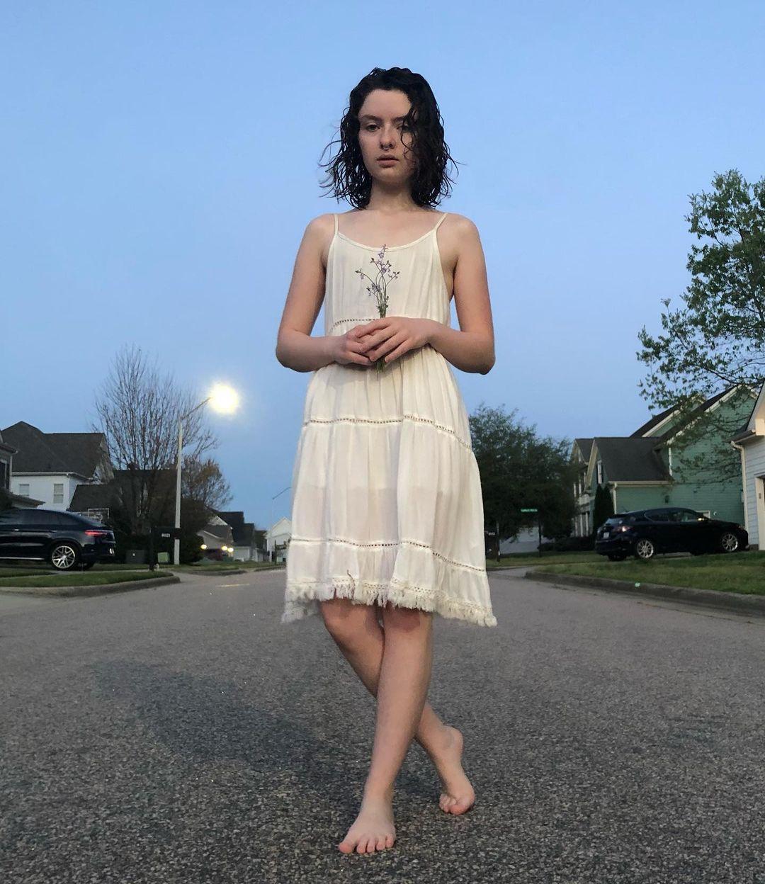 Lachlan Watson feet