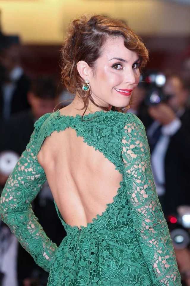 Noomi Rapace sexy back