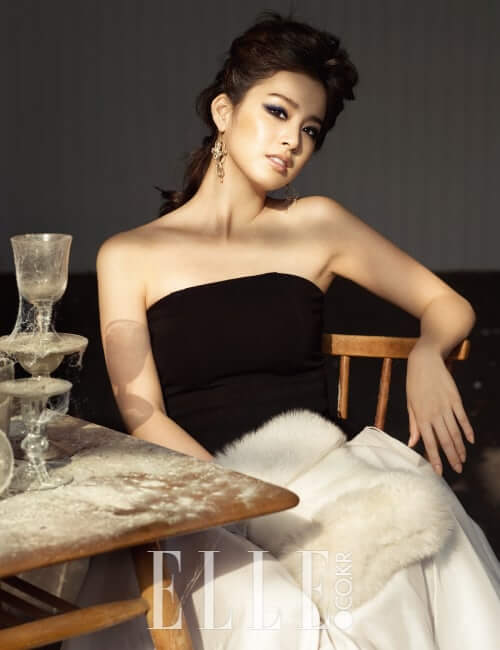 Kim Tae-hee boobs
