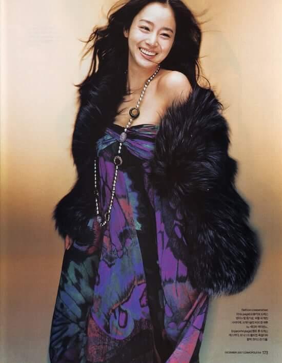 Kim Tae-hee hot looks