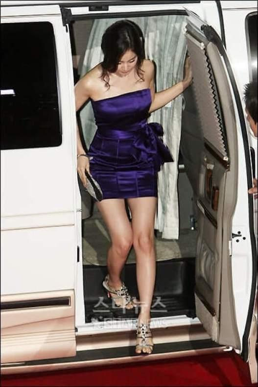 Kim Tae-hee sexy legs