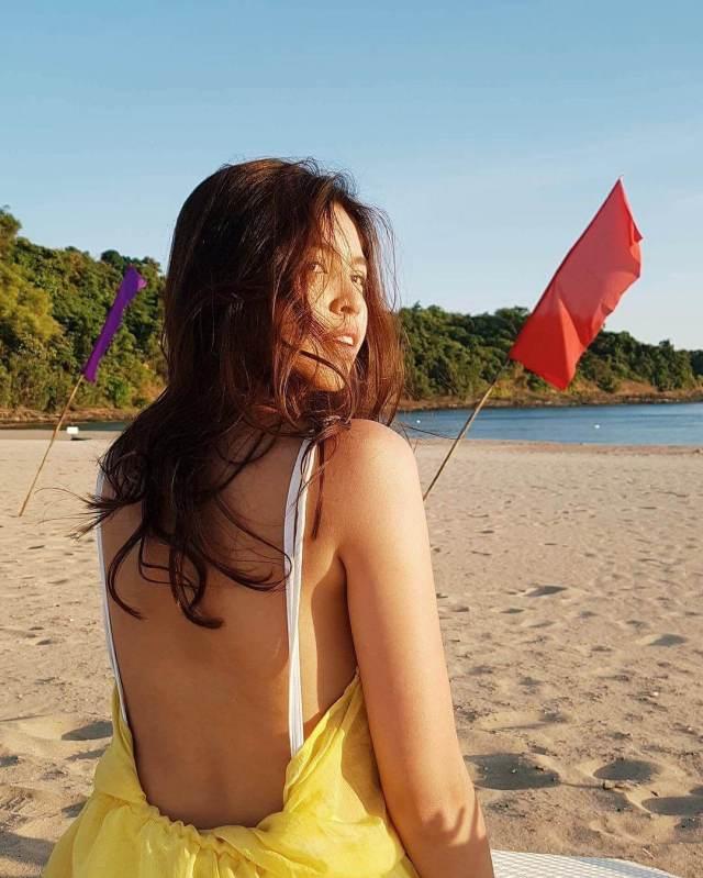 Maine Mendoza sexy back pics