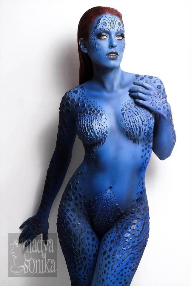 Mystique hot looks