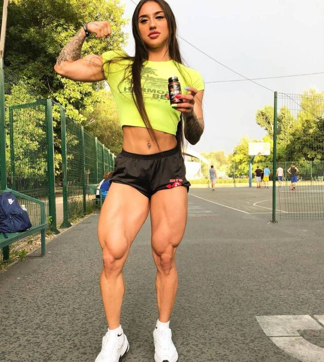 Bakhar Nabieva sexy legs