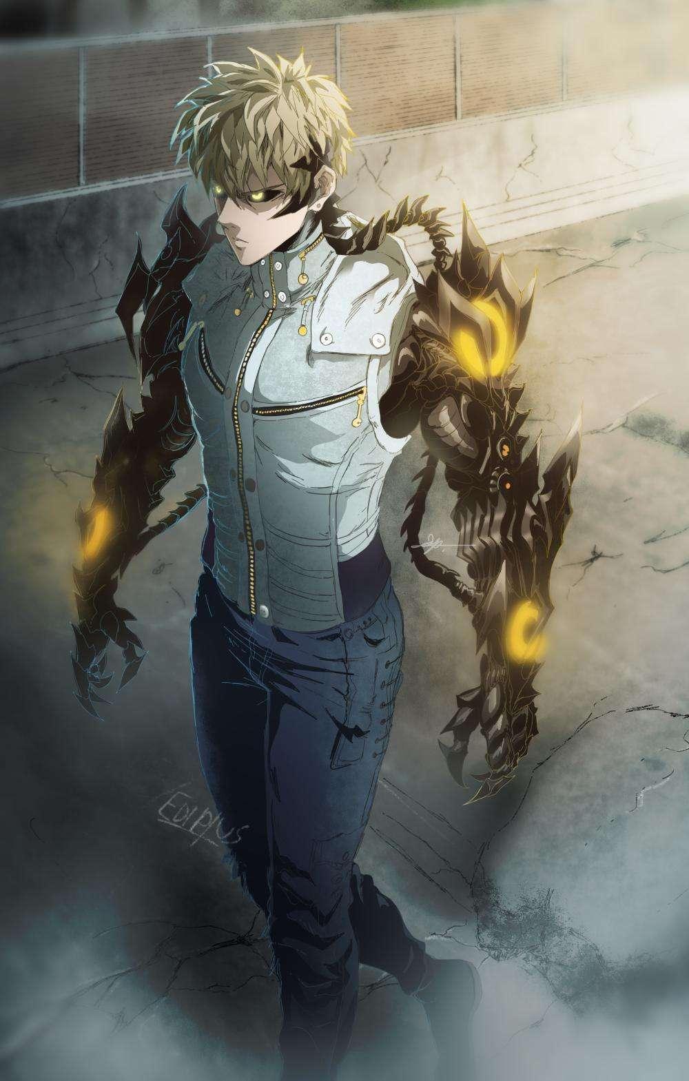 Genos Demon Cyborg