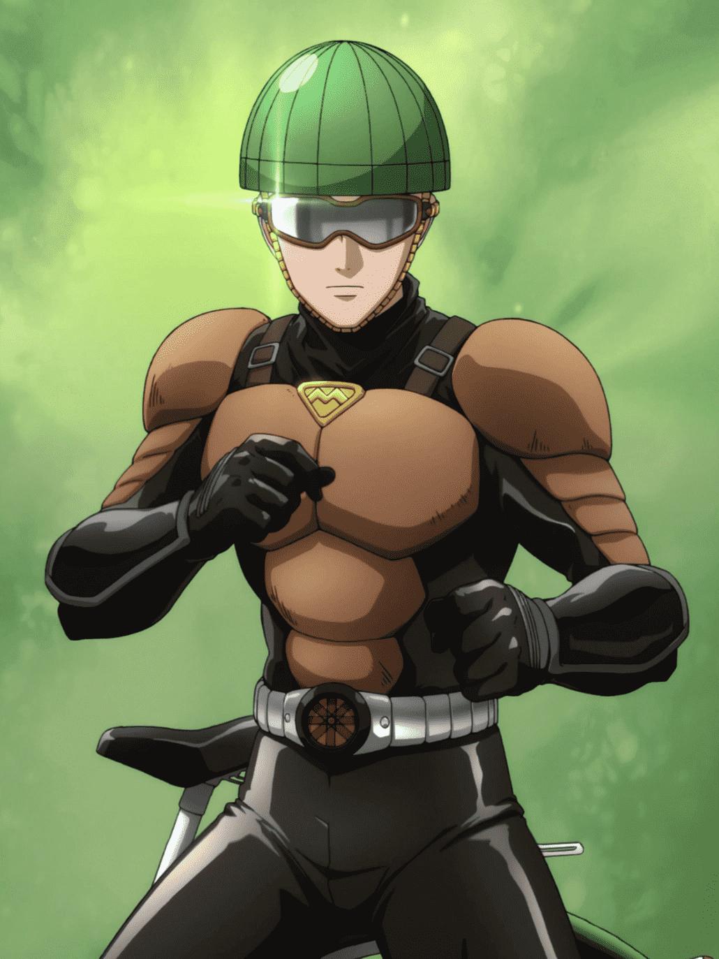 Mumen Rider from One Punch Man