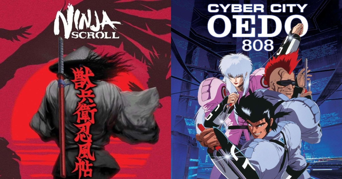 Top 15 Best Action Anime of the 80s and 90s!