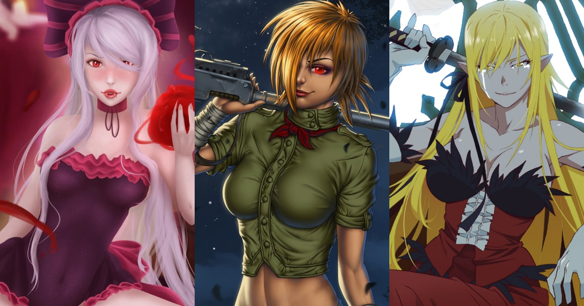 Top 8 Badass Female Vampires In Anime