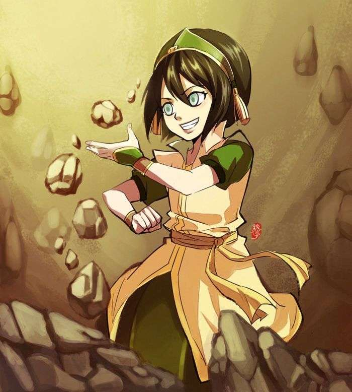 Toph Beifong - Avatar The Last Airbender
