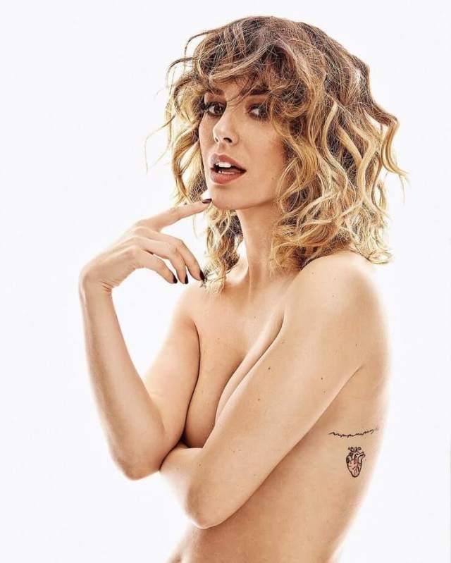 Blanca Suárez topless