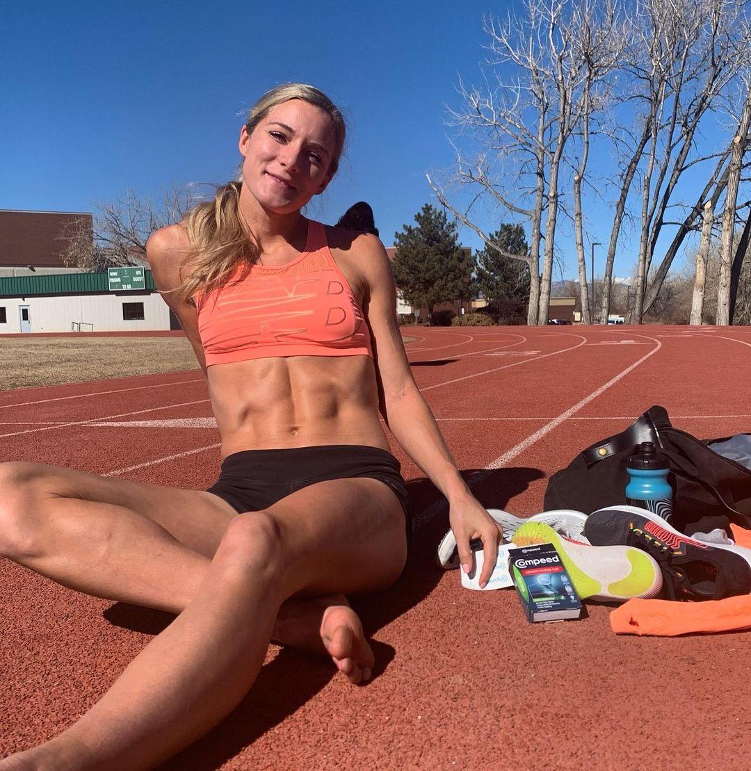 Emma Coburn sexy legs