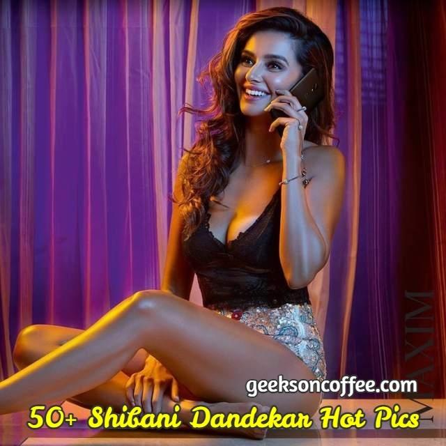 Shibani Dandekar Hot Pics