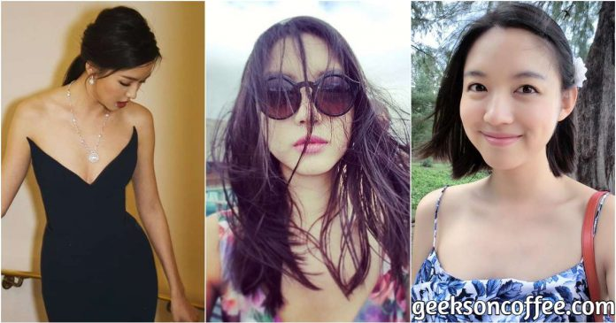 51 Zhang Zilin Hot Pictures Show Off Her Flawless Figure