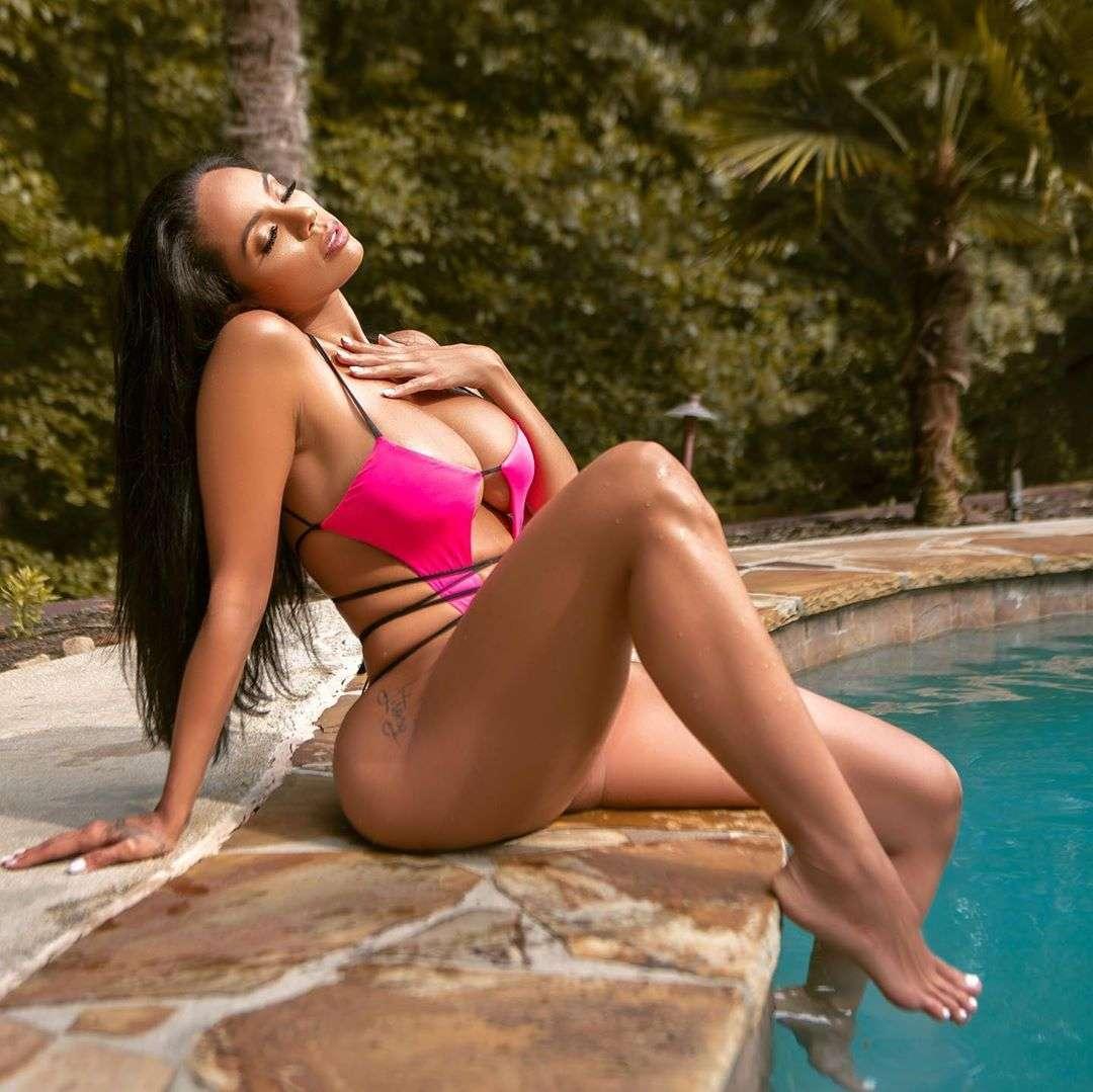 Erica Mena hot look