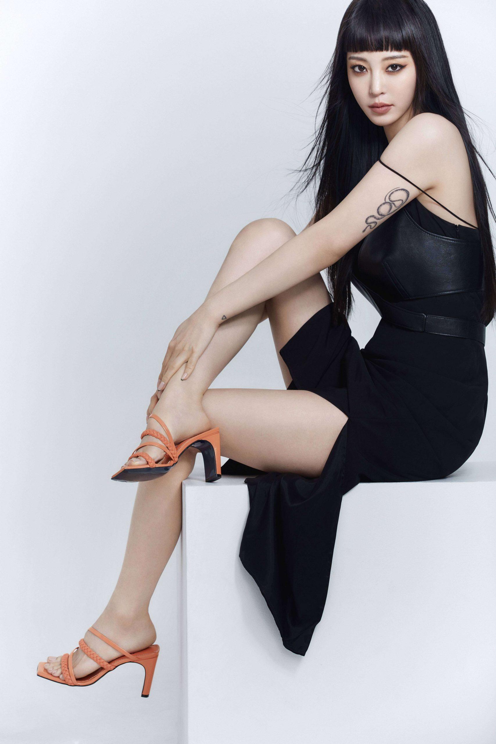 Han Ye Seul sexy look