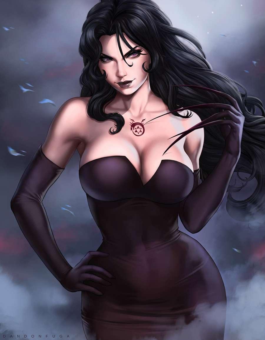 Lust, Fullmetal Alchemist Brotherhood