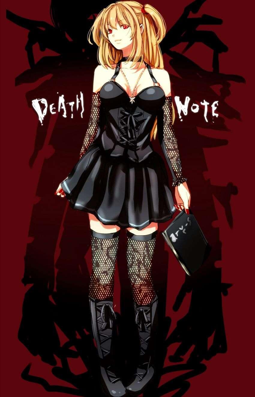 Misa Amane, Death Note
