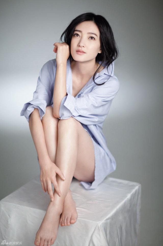 wang likun sexy feet
