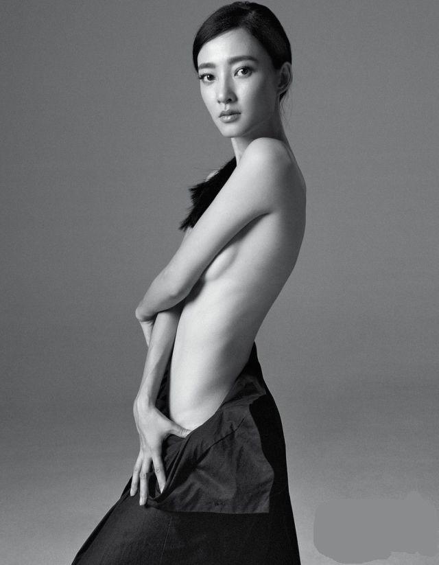 wang likun topless