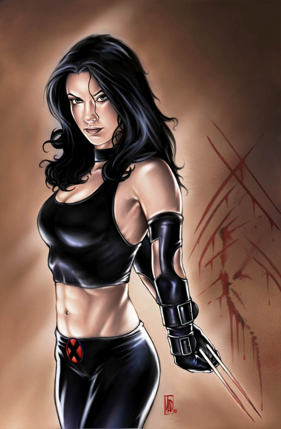 x-23 sexy look